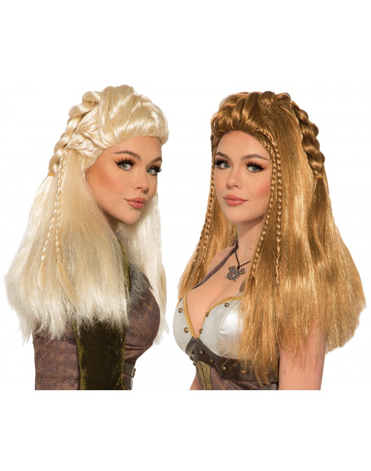 Warrior Wig Costume Accessory