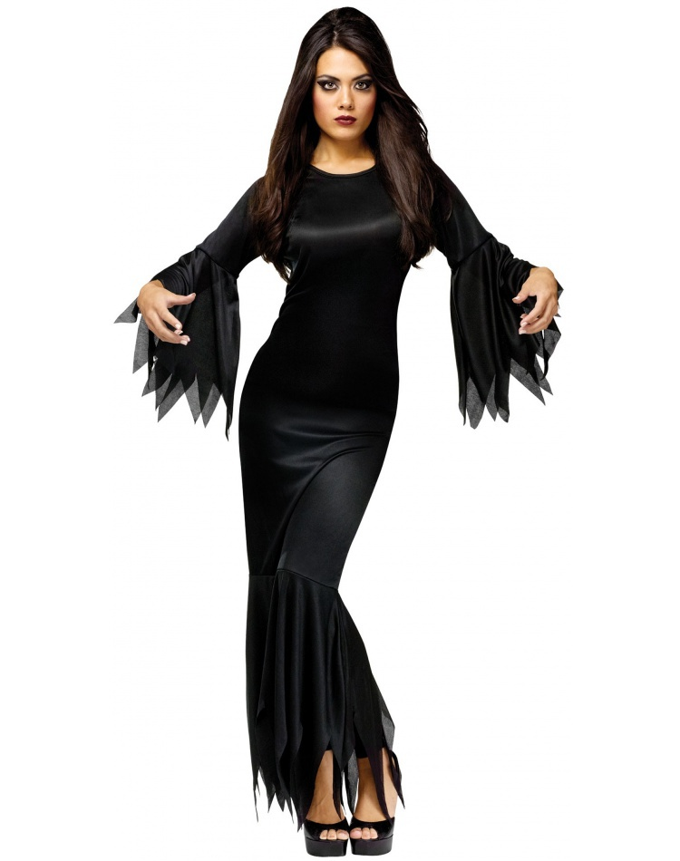 madam morticia morticia costume. Black Bedroom Furniture Sets. Home Design Ideas
