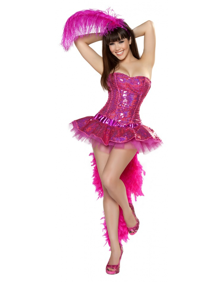 Sexy showgirl costumes