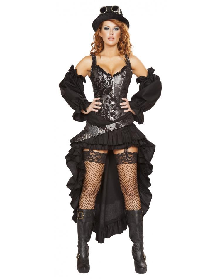 steampunk maiden costume. Black Bedroom Furniture Sets. Home Design Ideas