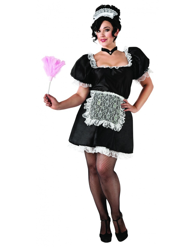 French Maid Dress Costume