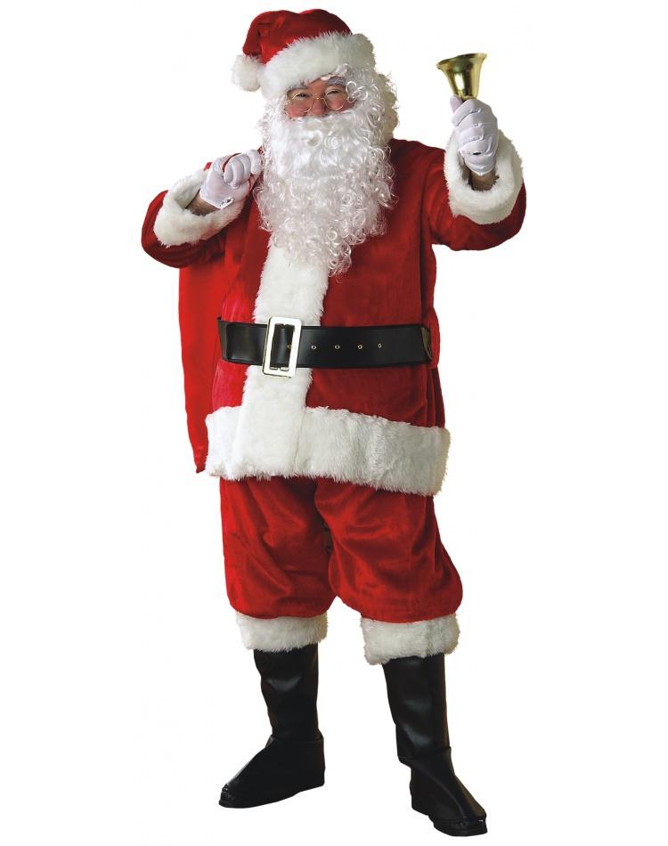 Premier Santa Suit Deluxe Plush Claus Costume