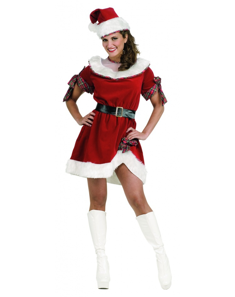 Mrs santa miss claus costume