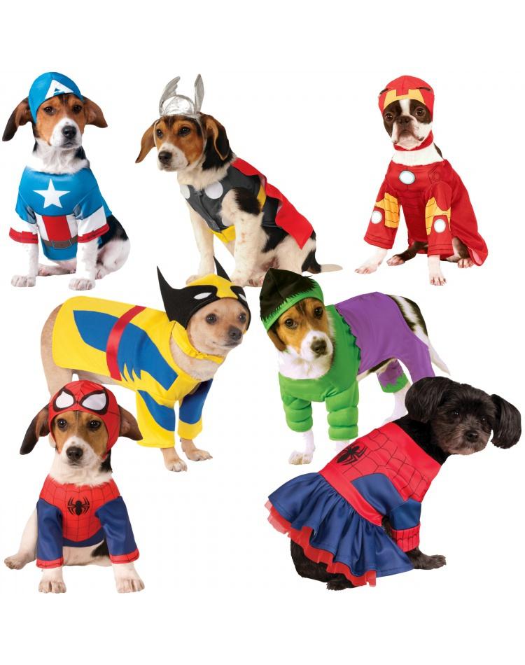 image  sc 1 st  7th Avenue Costumes & Superhero Dog Marvel Universe Pet Costume