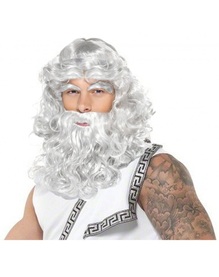 Zeus Wig And Beard 25