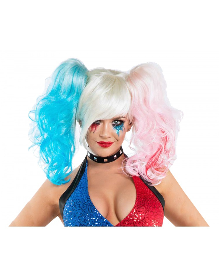 Suicide Wig Costume Accessory